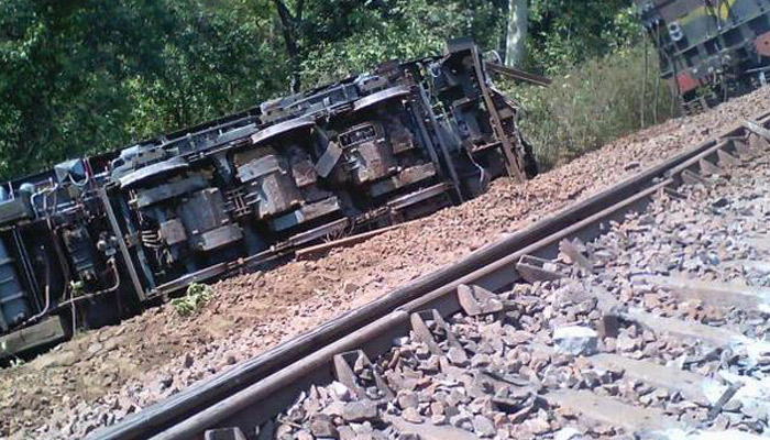 14 bogies of freight train derailed in Chattisgarh, no casualities