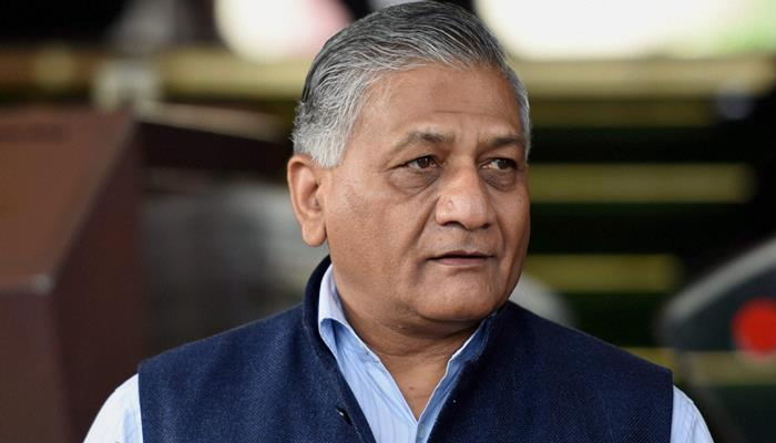 Ex-army man who committed suicide was Congress worker: VK Singh
