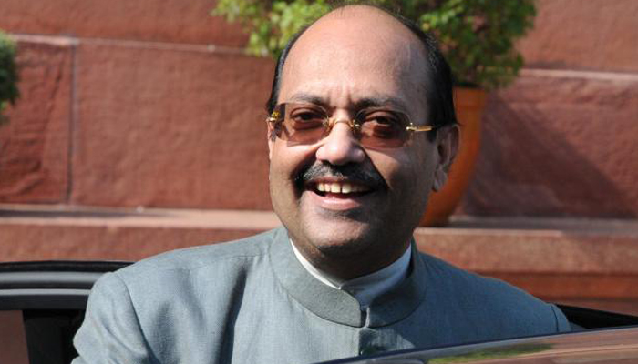 Mulayam inducts outsider Amar Singh in SP parliamentary board