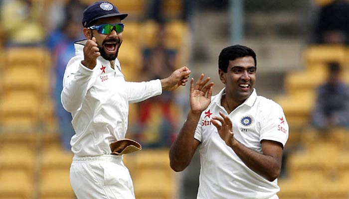 Ashwin combines well with Virat to win match and series for India