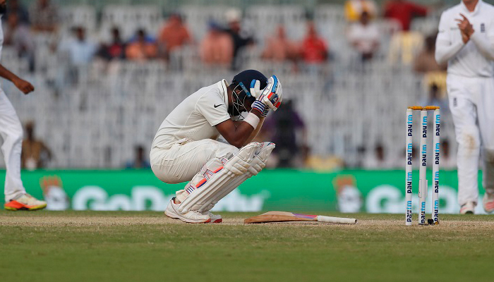 KL Rahul 9th batsman to get out on 199