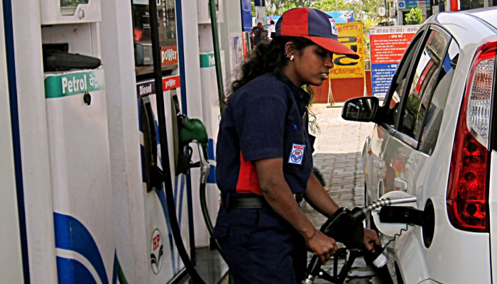 Petrol gets dearer by 13 paise; diesel turns cheaper by 12 paise