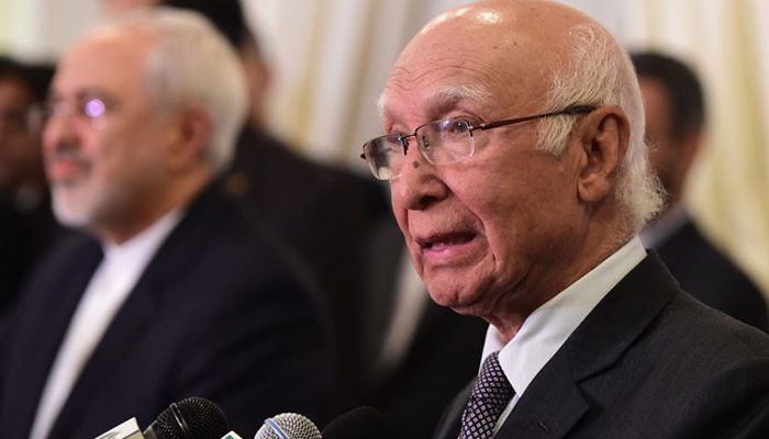 Sartaj Aziz reaches Amritsar early for Heart of Asia conference