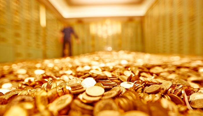 Gold slumps another Rs 350 to hit six-month low of Rs 29000