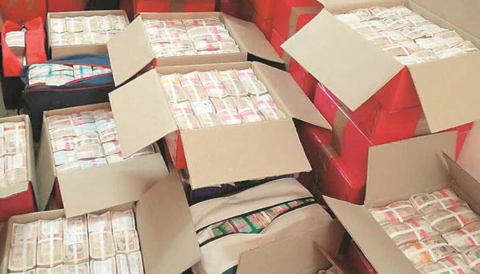 I-T dept recovers huge amount of cash from TN CSs residence