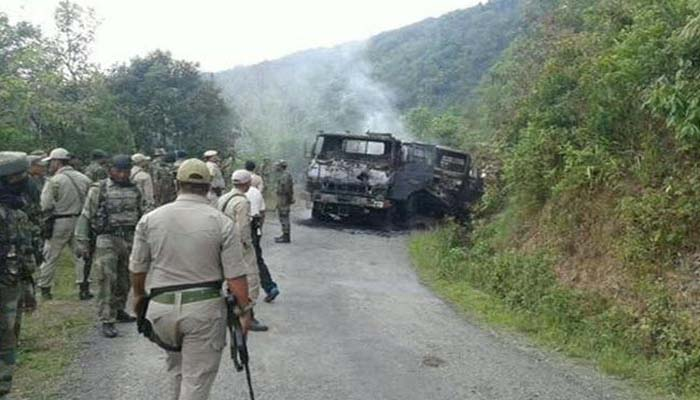 Manipur: 2 security personnel died, 6 injured in ambush