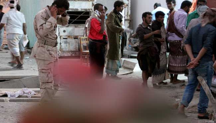 48 soldiers killed, 50 injured in suicide bombing attack in Yemen