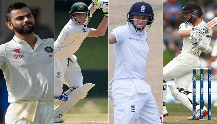 Smith, Root and Williamson better than me in Tests, says Virat