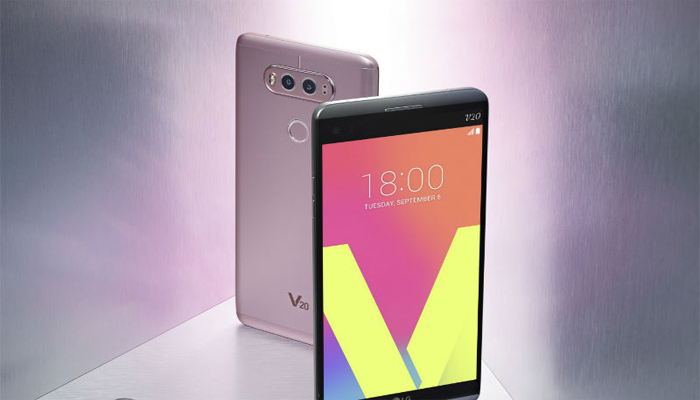 LG unveils its flagship handset V20, check features