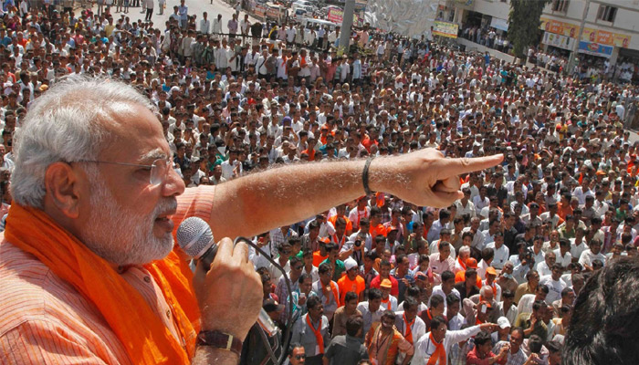 Those who mock at rape incidents, can never secure women: PM in Bijnor