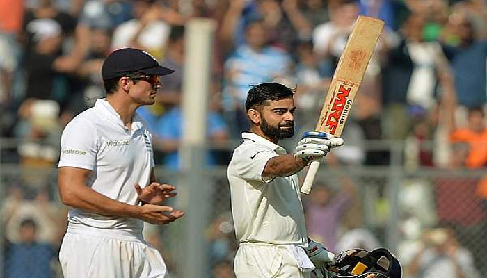 Virat Kohli becomes first Indian skipper to score three double tons