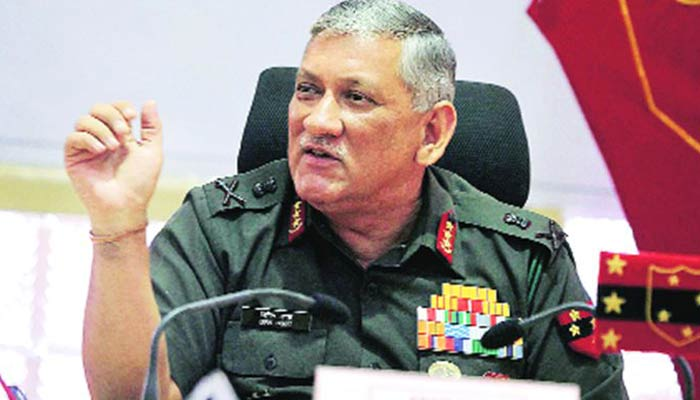 General Rawat considers women at frontline on conditions