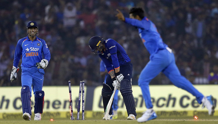 India seals series 2-0 with 15 run win over England