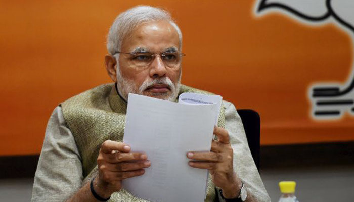 BJP workers write bloody letter to PM after party distributed tickets