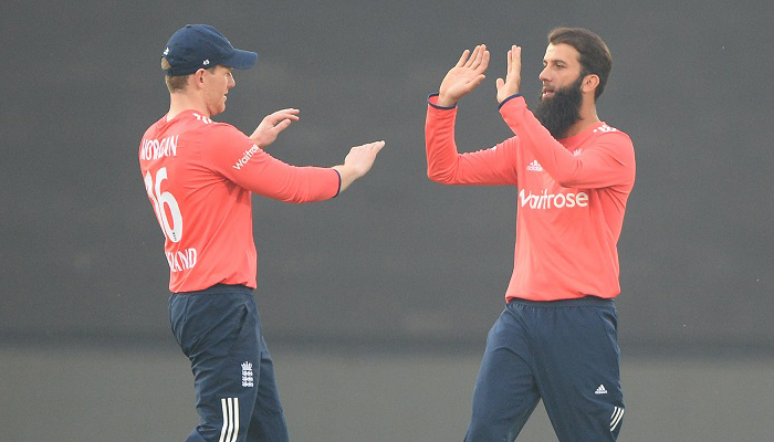 INDvsENG 1st T20I: England restricts India to 147/7
