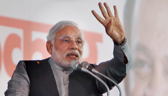 BJP expects over 10 lakh turnout at Narendra Modis Lucknow rally
