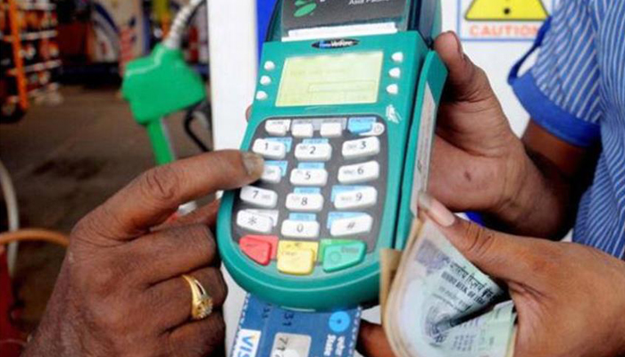 Petrol pumps not to accept debit/credit card payments from Jan 13