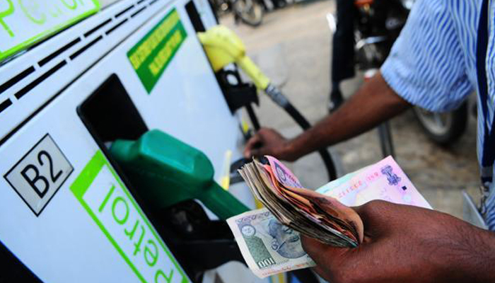 Petrol price hiked by Rs 1.29/ltr; Diesel by Rs 0.97 per litre