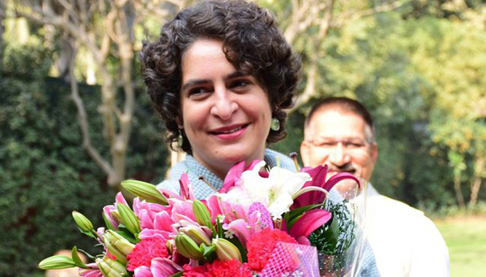 Priyanka played instrumental role in alliance with SP, says Congress
