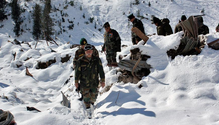 Army officer dies as avalanche hits camp, rescue ops on