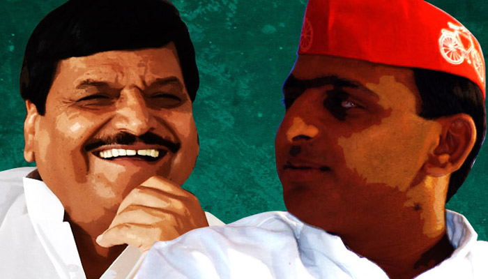 Efforts on to unite SP factions,Shivpal may contest for Akhilesh