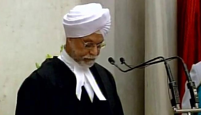 Jagdish Singh Khehar sworn in as new Chief Justice of India