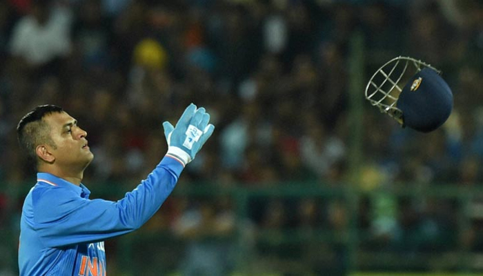 Dhoni calls final series as India captain a 'special' one