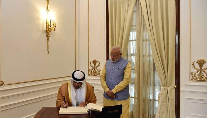 India signs 14 pacts with UAE, PM says strategic ties to be boosted