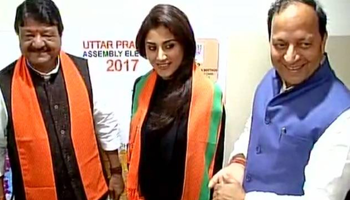 Bollywood actor Rimi Sen joins BJP, may contest from Punjab