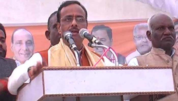 Not every person chanting Lord Rama belongs to BJP: Dinesh Sharma