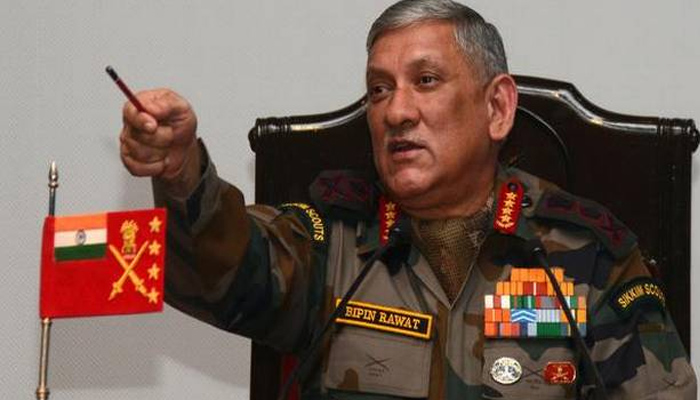 Those supporting ISIS and Pakistan will not be escaped,  warns Bipin Rawat