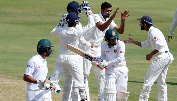 India continues its purple-patch; thumps Bangladesh by 208 runs