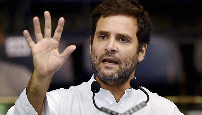 PM Modi joined hands with sacked Congress leaders: Rahul Gandhi