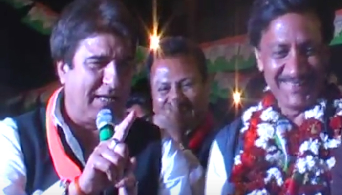 Uncouth Raj Babbar threw decency to the wind in Agra