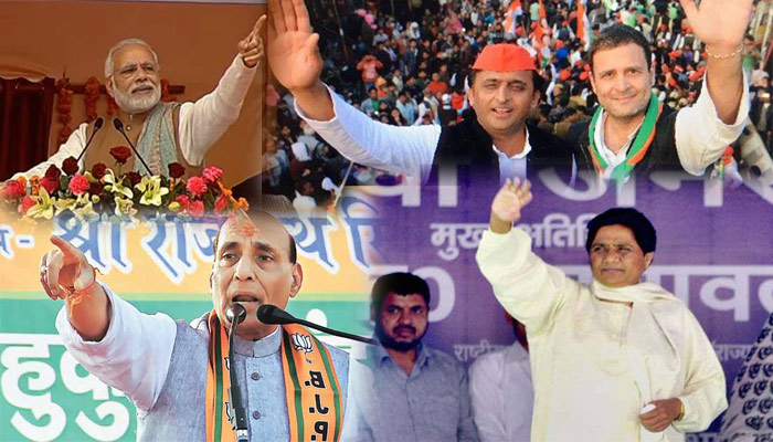 UP Polls 2017: Here is the list of top public rallies on last day of campaign