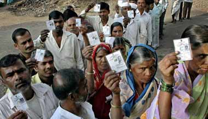 UP Assembly Polls: First phase voting %age slightly above from 2012