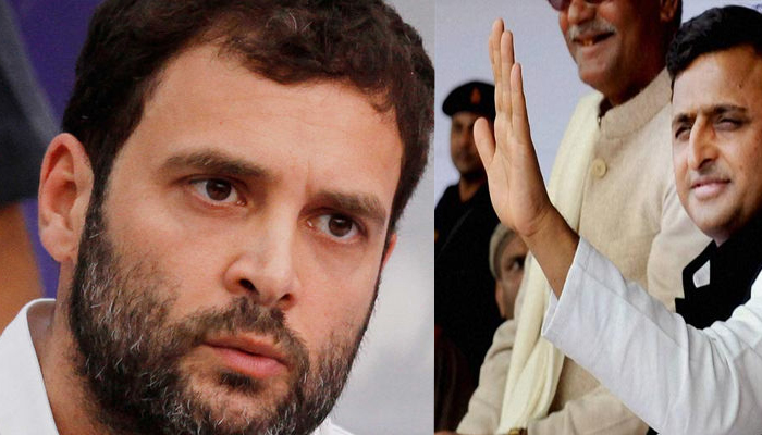 Congress and SP are fighting each other on many seats