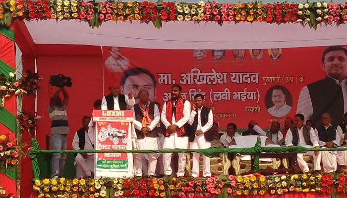 Only BJP is relishing the acche din, says Akhilesh Yadav