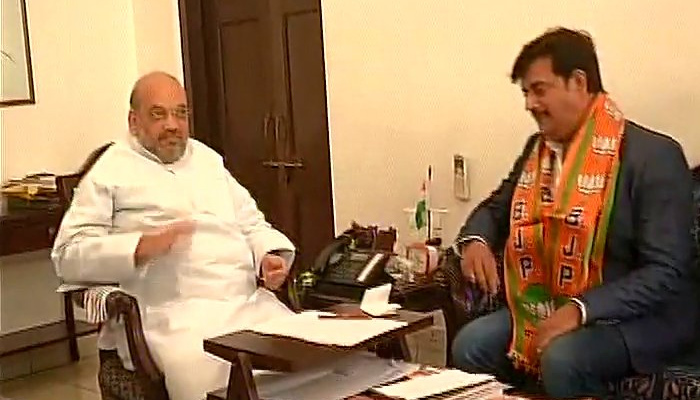 Actor Ravi Kishan joins BJP in presence of party president Amit Shah