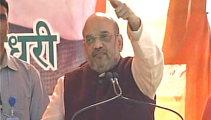 Akhilesh Yadav and Rahul Gandhi are two sides of the same coin: Amit Shah