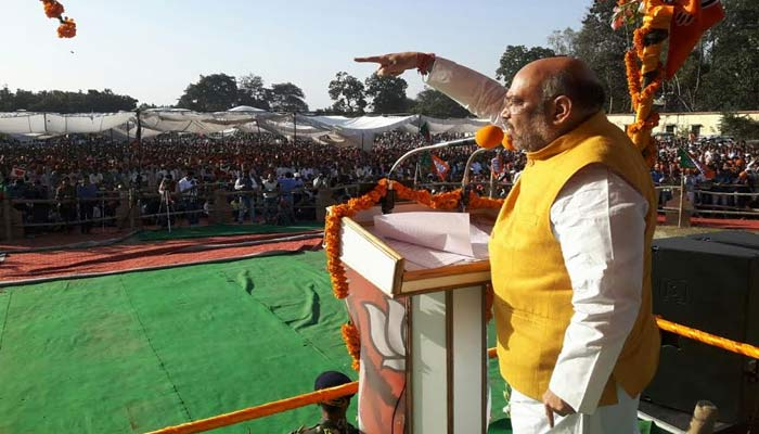 Not Kaam, but Crime Bolta Hai in UP, says Amit Shah