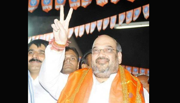 Akhilesh and Rahul have come together to plunder UP: Amit Shah
