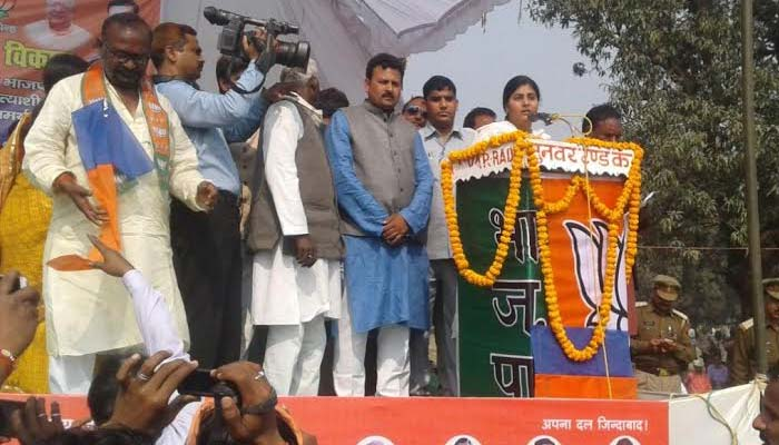 Congress and SP looted India and UP, says Anupriya Patel