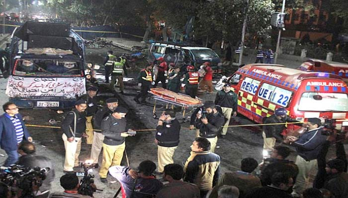 Blast outside Punjab Assembly in Pakistans Lahore; 13 killed