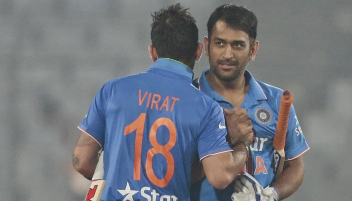Dhoni guided me throughout the limited over series, says Virat