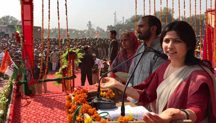 Modi even divided electricity on Hindu-Muslim lines: Dimple Yadav