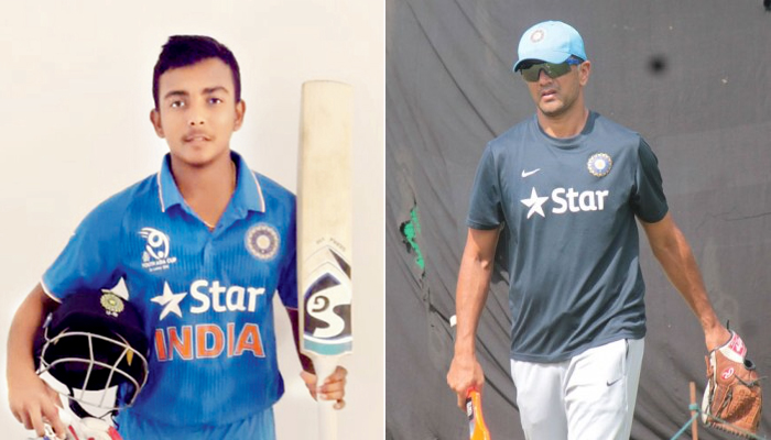 Prithivi Shaw is skilled but tougher roads ahead: Rahul Dravid