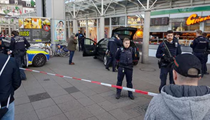 Car rammed into pedestrians in Germany, one killed