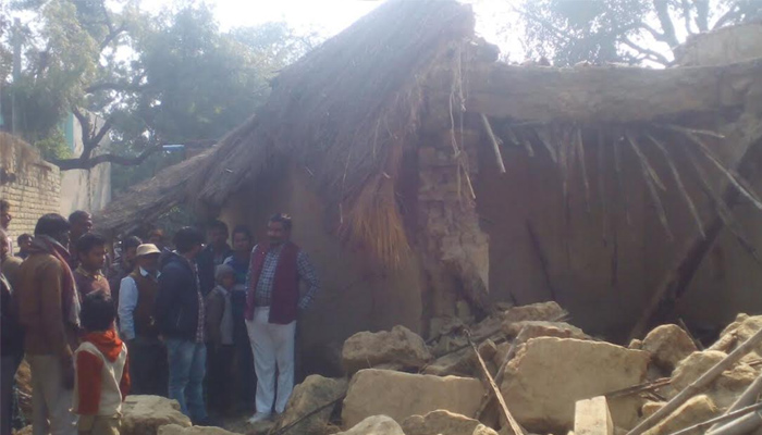 House collapses in Raebareli, one dead and several injured