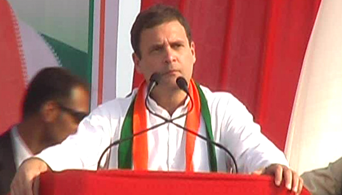 PM can waive off farmers loan without his party govt in state: Rahul